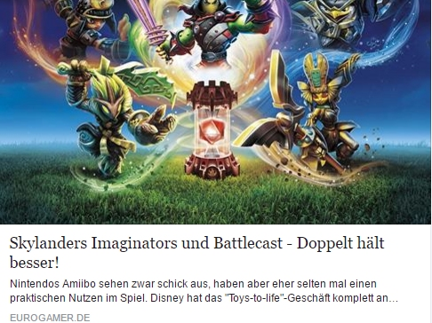 Skylanders Imaginators - Ulrich Wimmeroth - Eurogamer.de