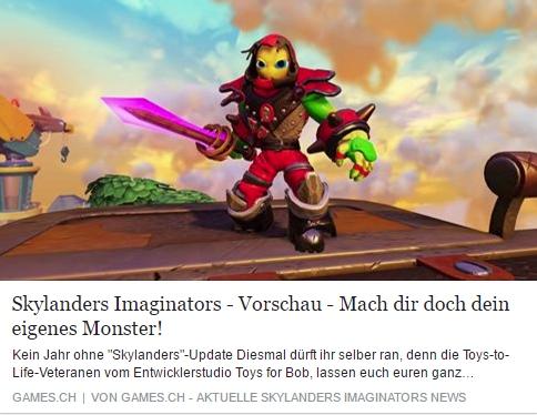 Skylanders Imaginators - Ulrich Wimmeroth - games.ch