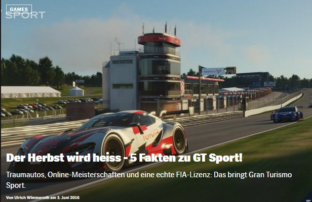 Ulrich Wimmeroth - GT Sport - Red Bull Games