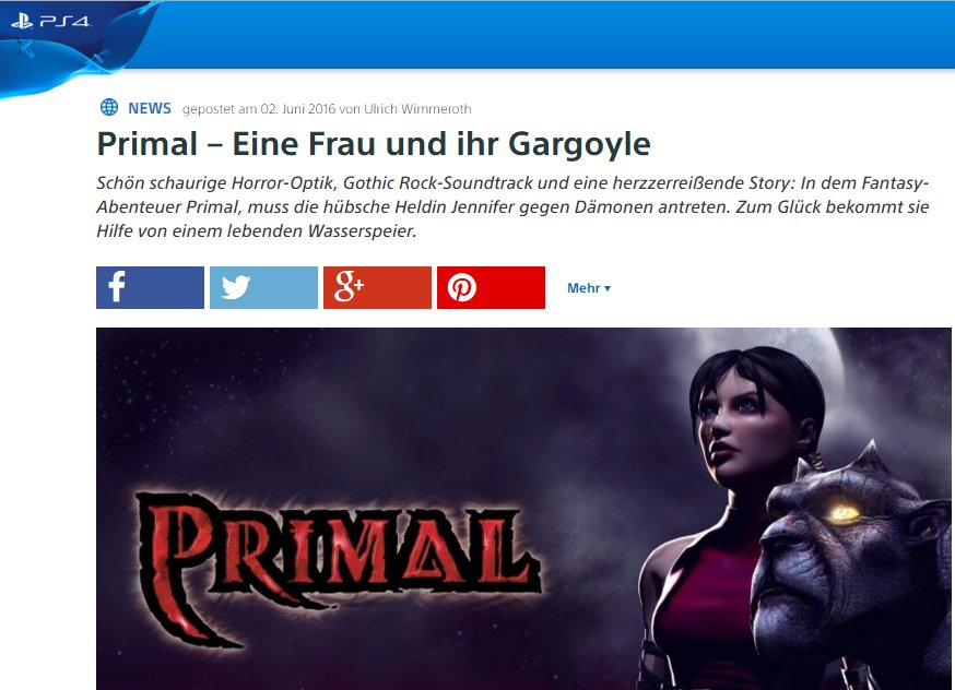 Ulrich Wimmeroth - Primal - Playstation Digital