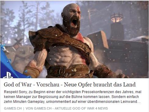 Games.ch - God of War - Ulrich Wimmeroth