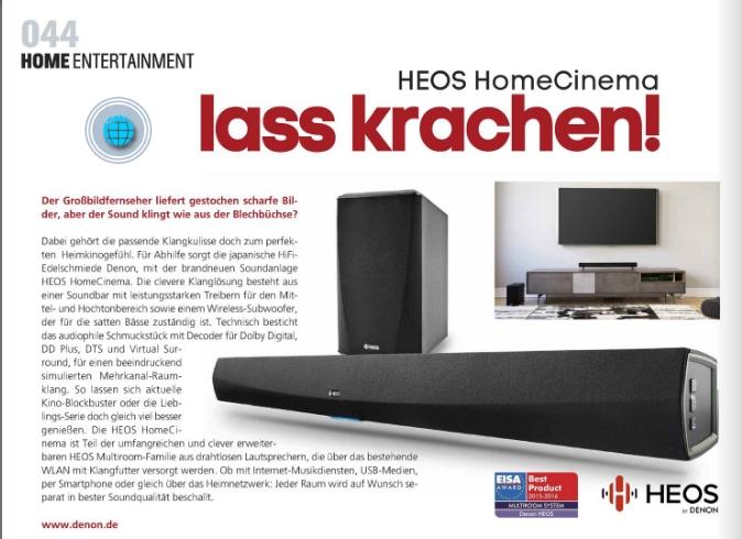 Kinoundco - HEOS Home Cinema - Ulrich Wimmeroth