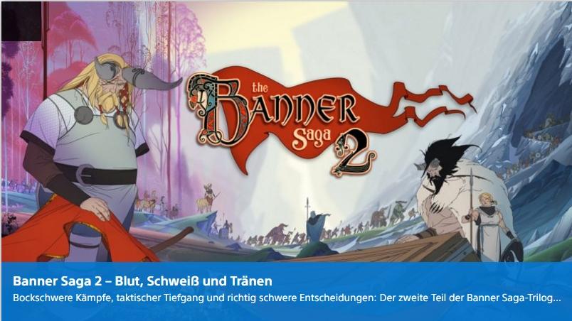 Playstation Digital - Banner Saga 2 - Ulrich Wimmeroth