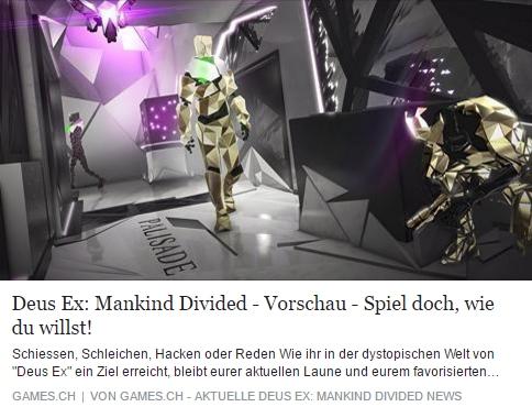games.ch - Deus Ex Mankind Divided - Ulrich Wimmeroth