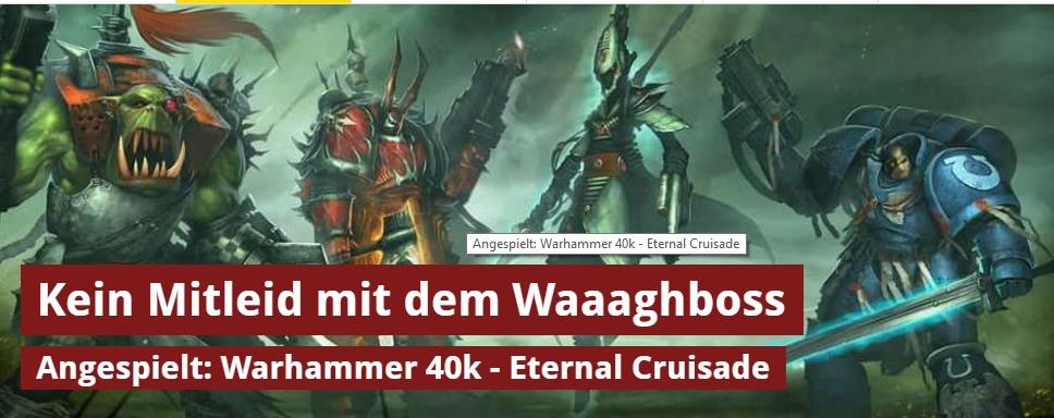 spieletipps.de - Warhammer 40000 Eternal Crusade - Ulrich Wimmeroth