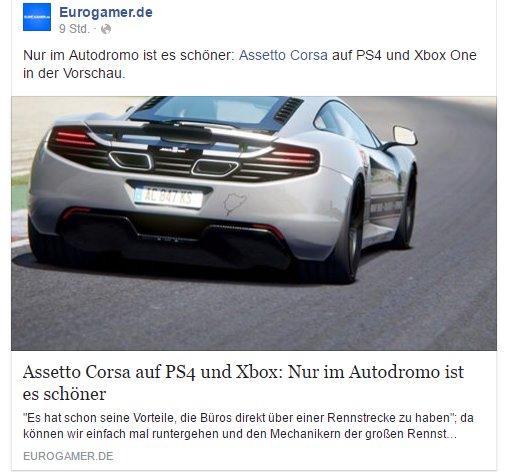 Eurogamer.de - Assetto Corsa - Ulrich Wimmeroth