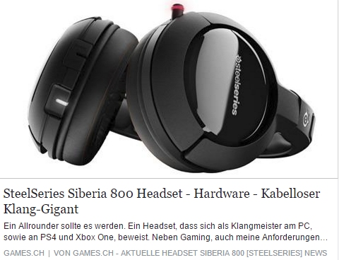 Games.ch - SteelSeries Siberia 800 - Ulrich Wimmeroth