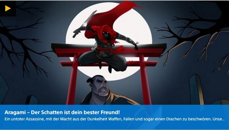 PlayStation Digital - Aragami - Ulrich Wimmeroth