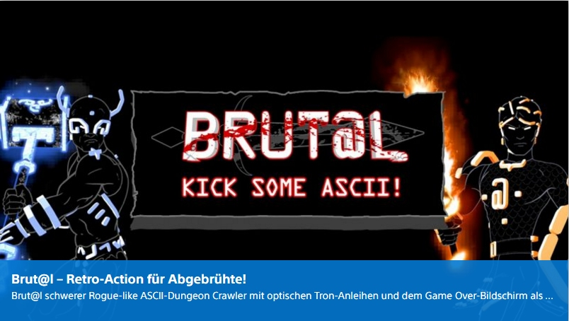 Playstation Digital - Brutal - Ulrich Wimmeroth