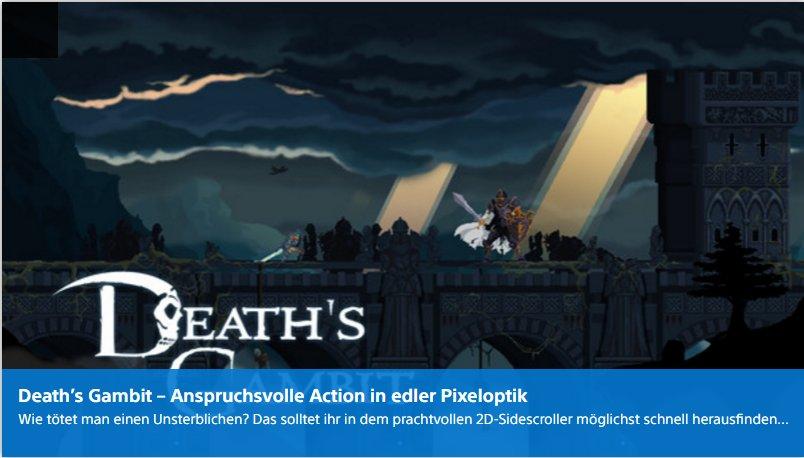 Playstation digital - Deaths Gambit - Ulrich Wimmeroth