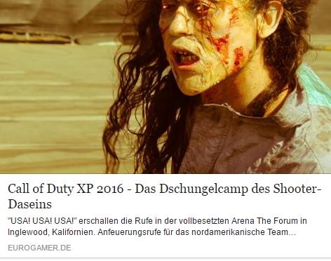Eurogamer.de - Call of Duty XP und WCL Championship 2016 - Ulrich Wimmeroth