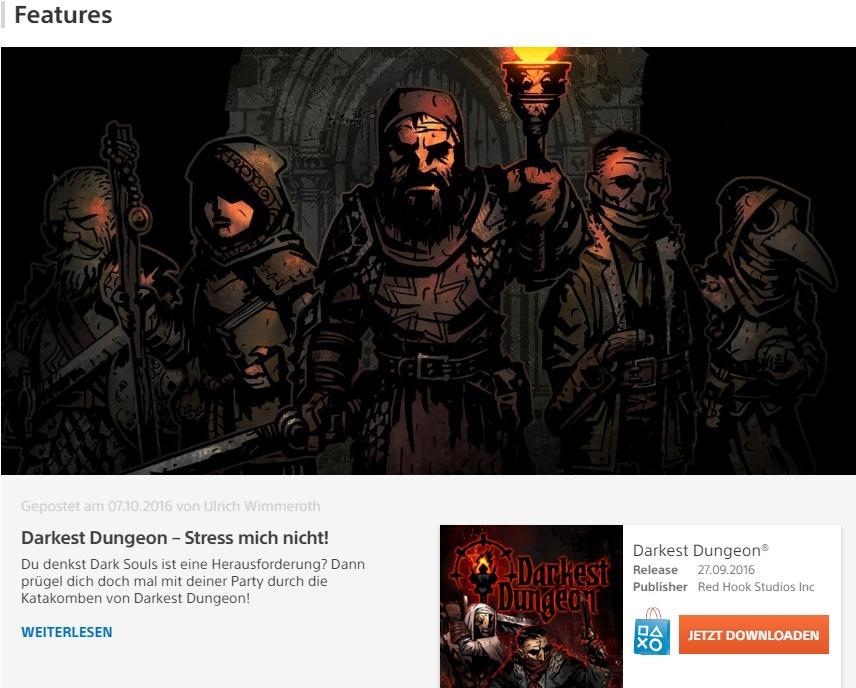 Darkest Dungeon – Stress mich nicht!