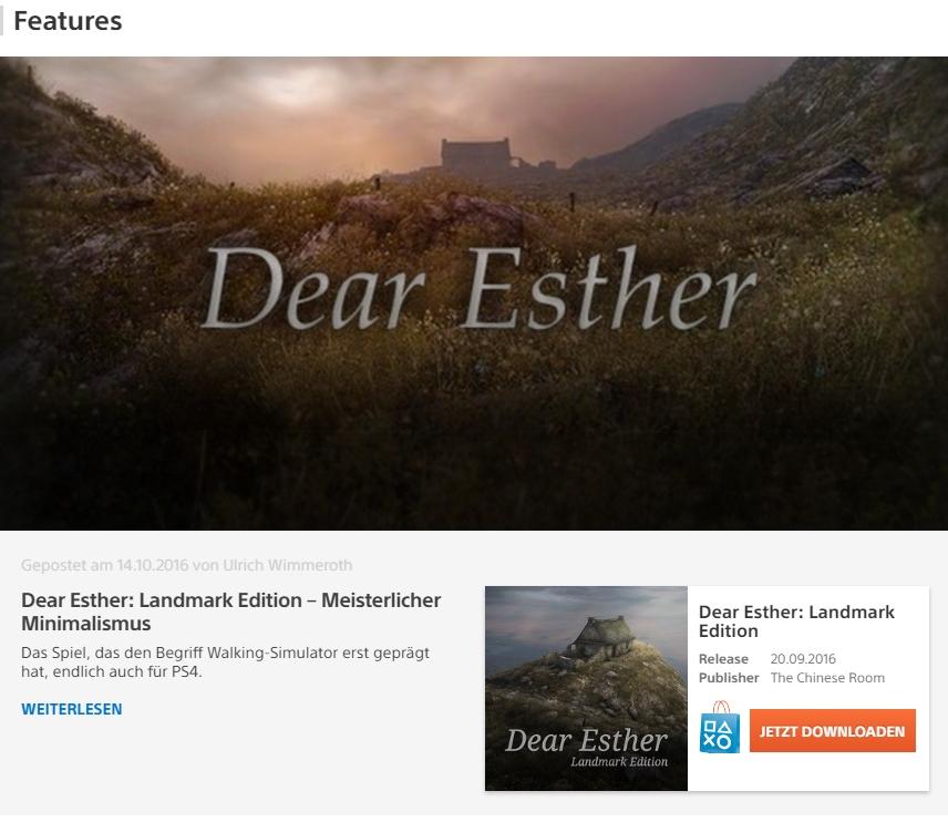 Dear Esther Landmark Edition – Meisterlicher Minimalismus